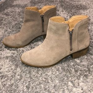 Lucky Brand Shoes - tan booties